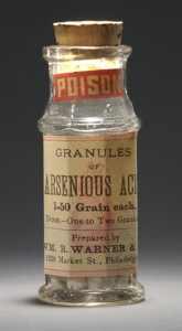 Arsenic Vial