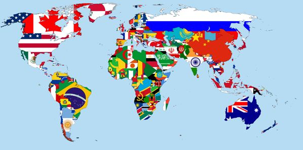 Flags Of The World By Condottiero