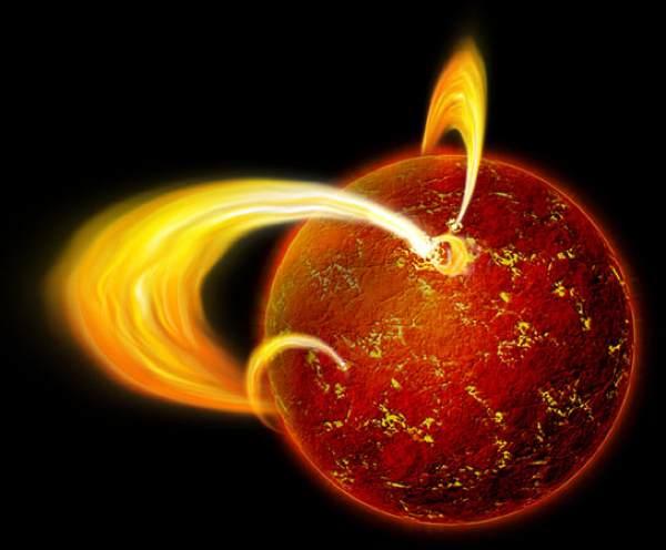 Illustration-Of-A-Magnetar