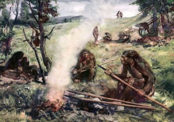 A group of neanderthals