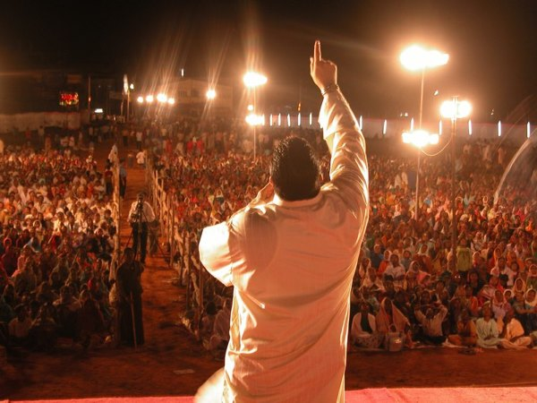 Preaching Crowd Ii