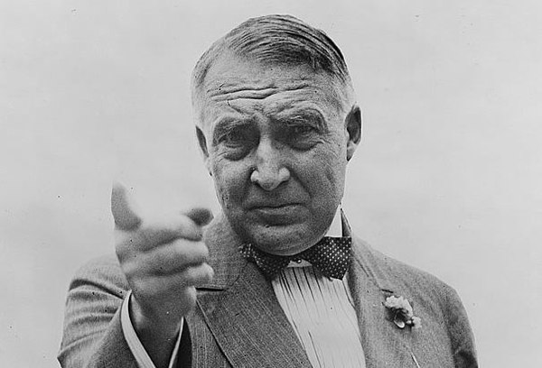 Warren-G-Harding-Pointing