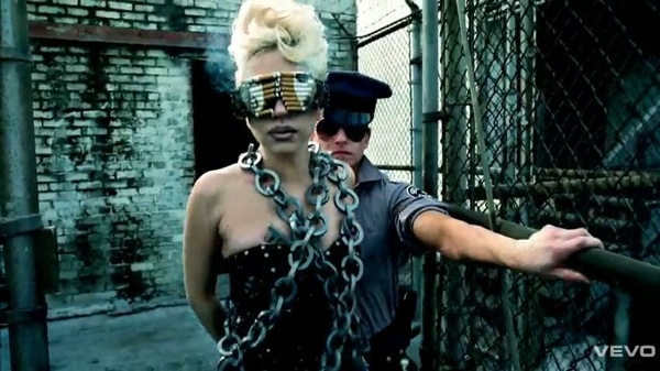 Lady Gaga Cigarette Sunglasses Telephone Video