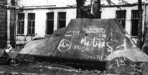 Kubus Polish Armoured Car Warsaw Uprising 1944