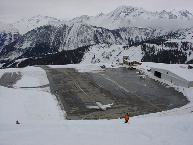 Courchevel-Airport-France