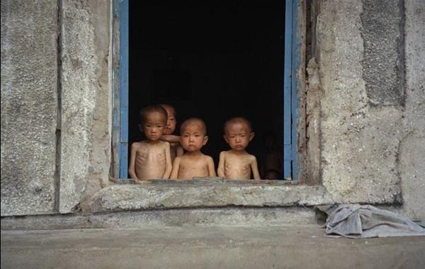 North Korea Famine Children