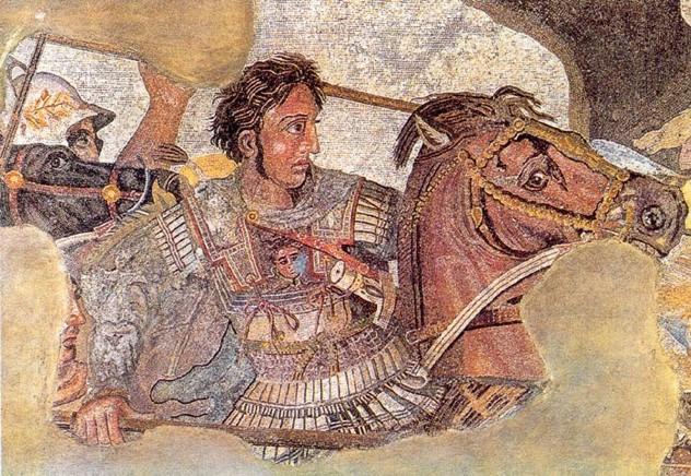A.M-En-Issos.-Mosaico-Casa-Fauno-Pompeya.