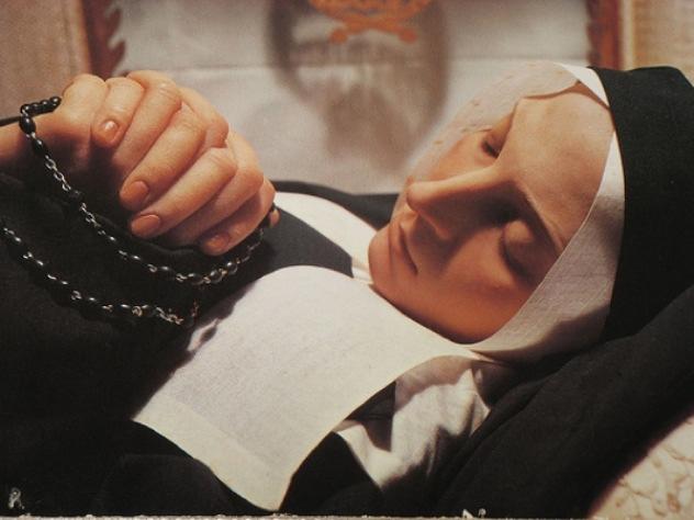 St Bernadette Incorruptable
