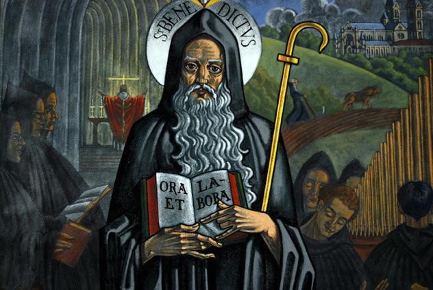 Rule St Benedict Wide