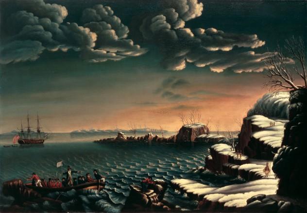 Landing_of_the_Pilgrims_by_Cornè_-_circa_1805