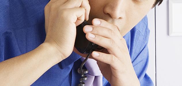 Panicked Phone CAll