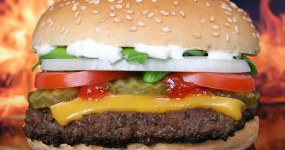 Burger Feature Photo