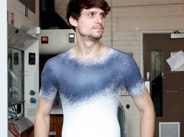 Spray on Shirt