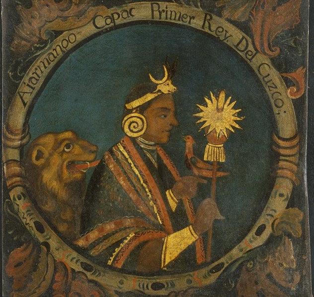 10_Manco_Capac,_First_Inca,_1_of_14_Portraits_of_Inca_Kings_-_overall