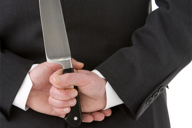 1- back stab