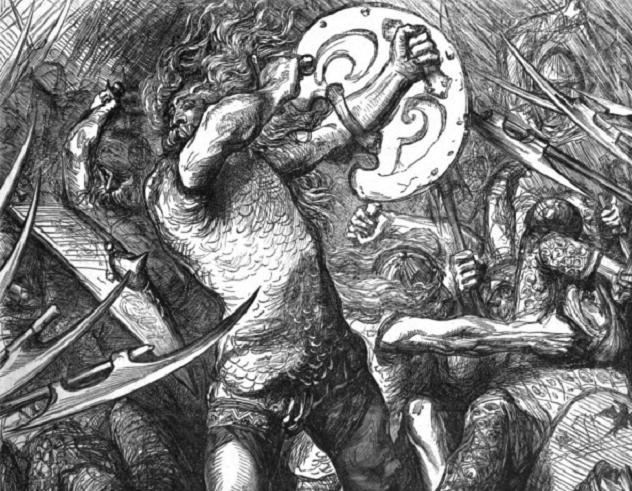 097-Hereward_fighting_Normans