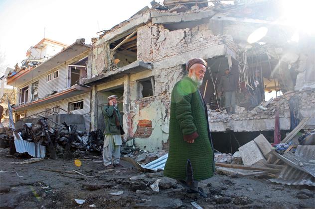 Suicide Bombing Kills Eight In Kabul