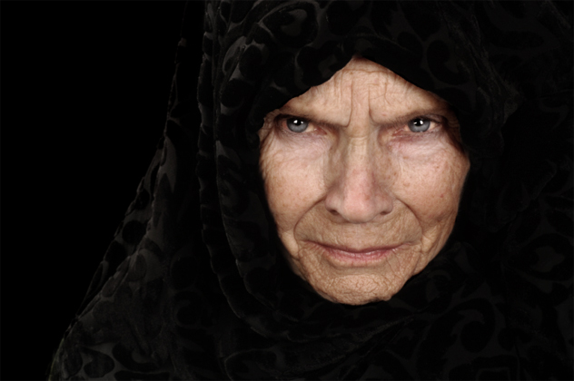 7- old woman