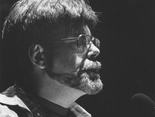 Stephen King, Author. Miami Bookfair International, 1993.