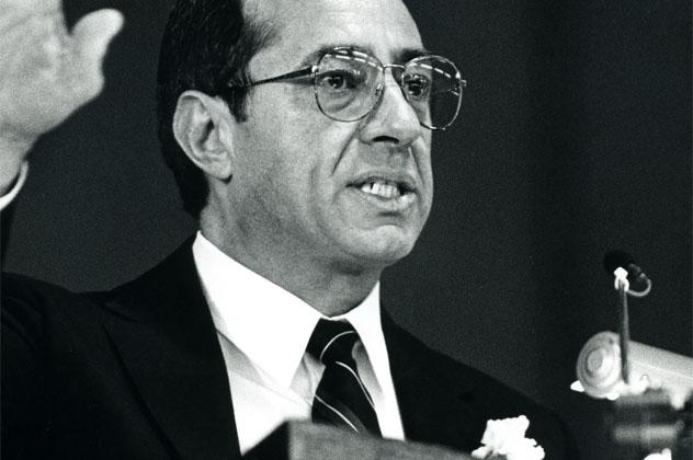 Mario Cuomo NY Governor 1987
