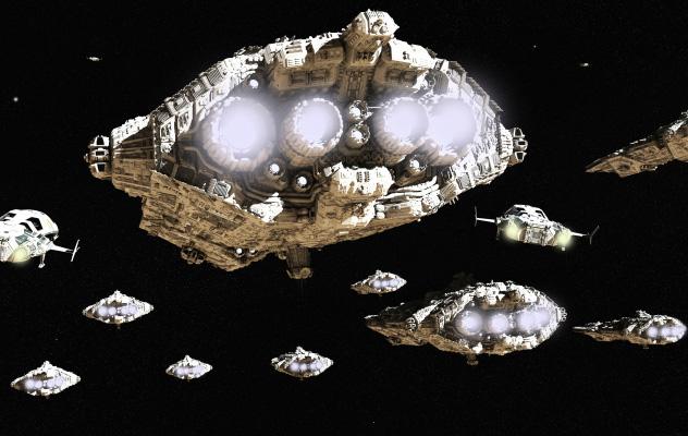 Risultati immagini per mckinnon space fleet