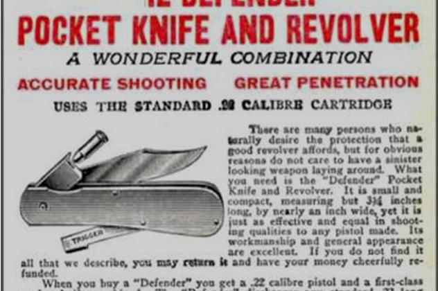 5- knife pistol