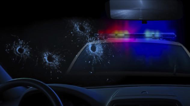 4 cop shot