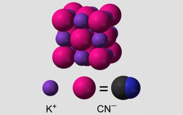 4-potassio cianuro