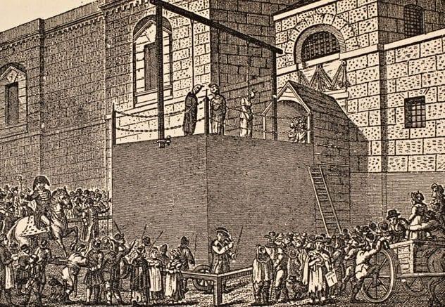 newgate-execution-1800s