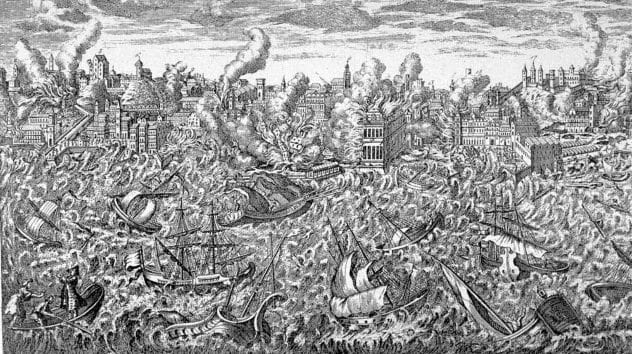 1755-lisbon Tsunami