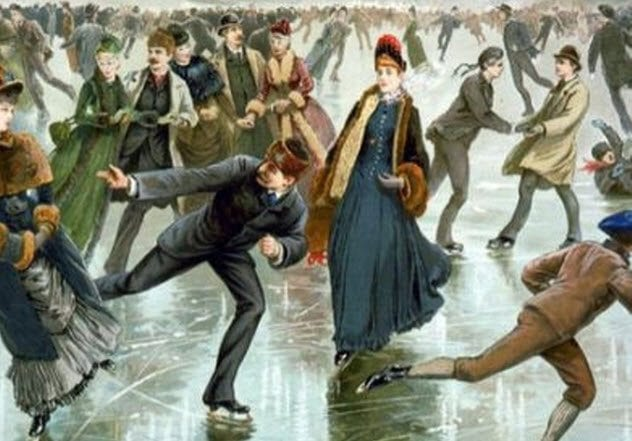 9-skating-on-ice-grant-allen-book