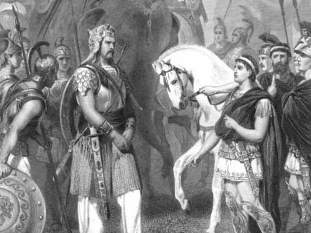 Porus and Alexander