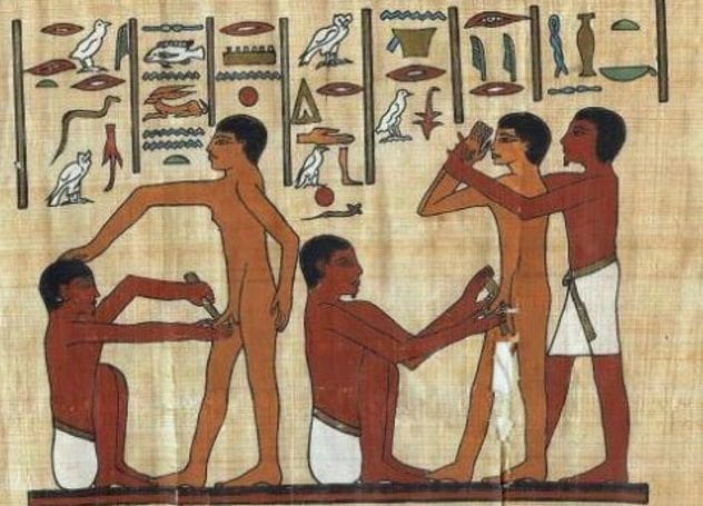Ancient Egypt Circumcision