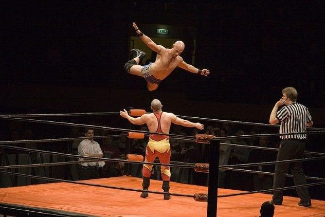 Pro Wrestling Match