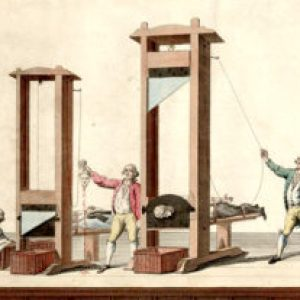 guilotine for beheading