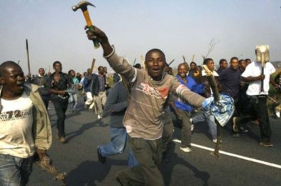 Xenphobia attacks targeted on Nigerians