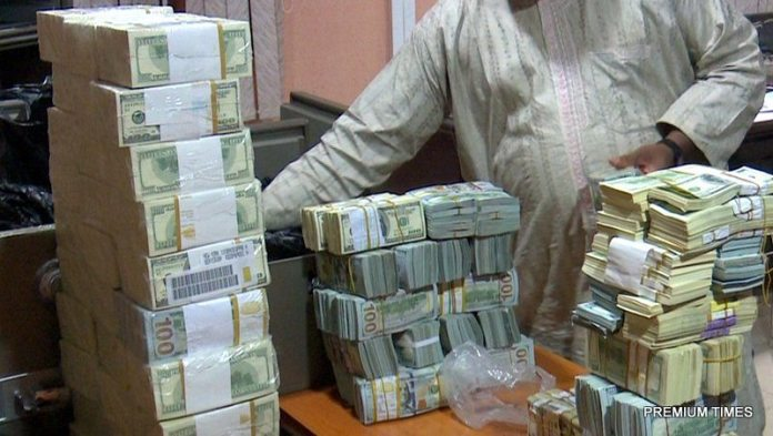 Looted funds recovered through whistle blowing