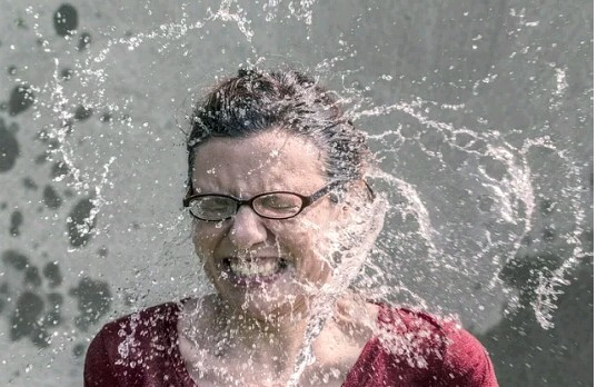 Splash water on your face to prevent yourself from dozing
