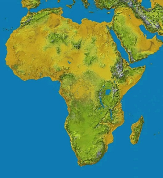 Top 10 Largest Countries In Africa By Land Area