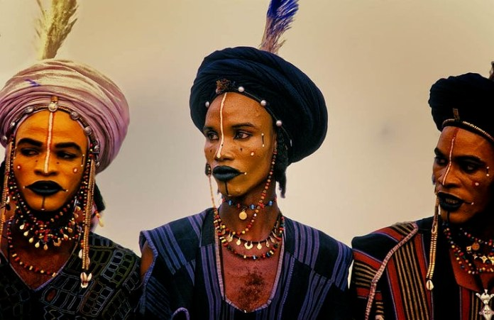 African Culture: The Wodaabe Tribe Wife Stealing Festival
