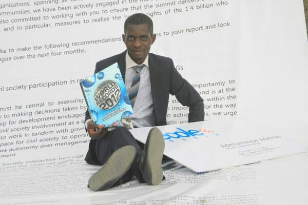 Meet Adetunwase Adenle, the Only Nigerian With 4 Guinness World Records