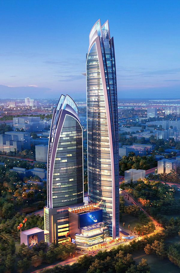 The pinnacle is Africa's tallest building