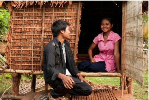 Parents in this Cambodian Community Build 'Love Huts' For their Daughters For This Reason
