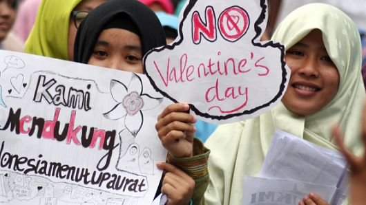 Valentine: It Is Illegal To Celebrate Day Of Love In These 5 Countries