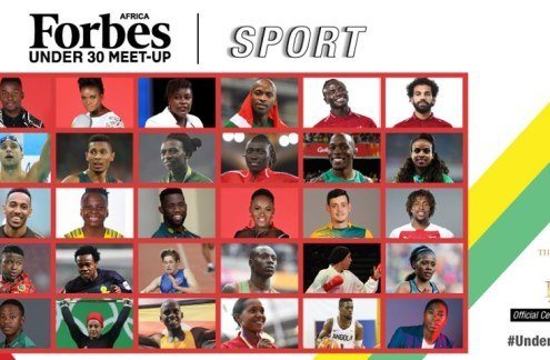 Meet Forbes Africa's 2019 New Class of 30 Under 30s In sports