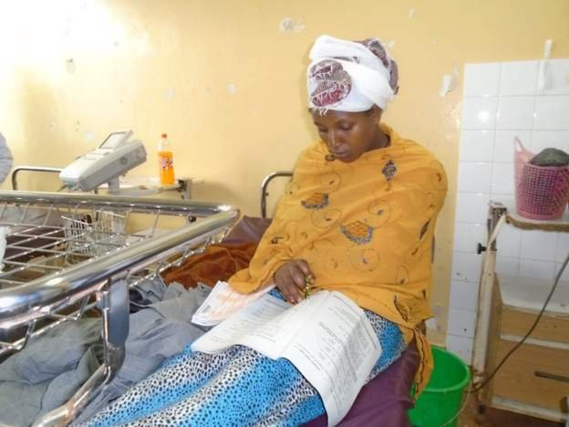Ethiopian Woman Sits For Her Exam Just 30 Minutes After Giving Birth