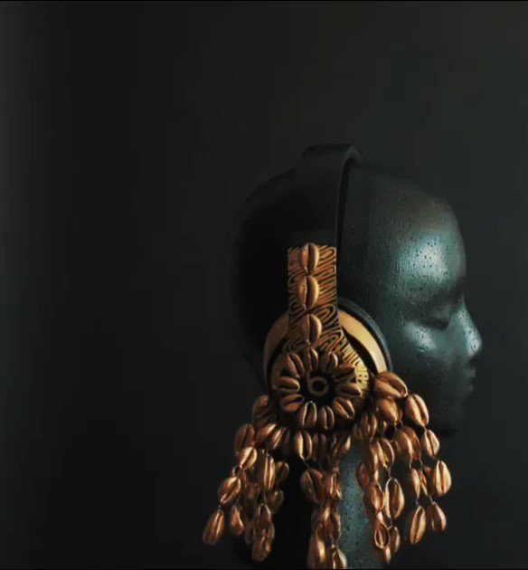 Burna Boy Gets Custom Beats By Dre Headphones, Inspired By 'African Giant'