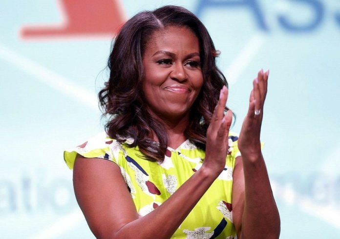 Michelle Obama overtakes Angelina Jolie as world's most admired woman