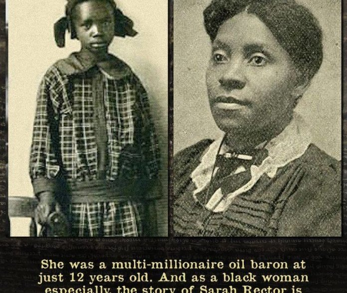 Sarah Rector - Richest Black Girl in America in 1913
