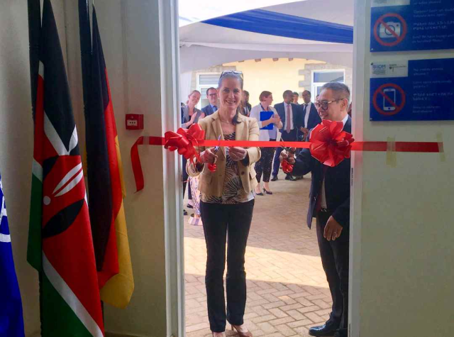 IOM launches Family Reunification Programme in Nairobi, Kenya